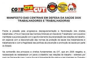 Manifesto_Centrais