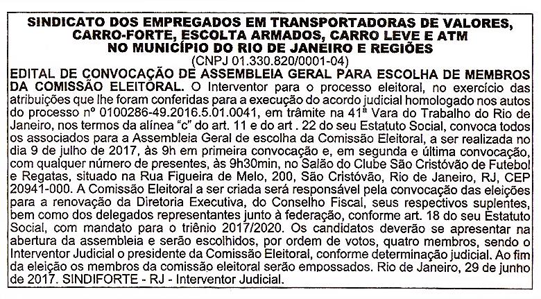 Edital-AGE-ComissaoEleitoral-SINDIFORTE-O-DIA-29-06-2017